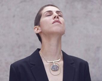 Etna bib  necklace