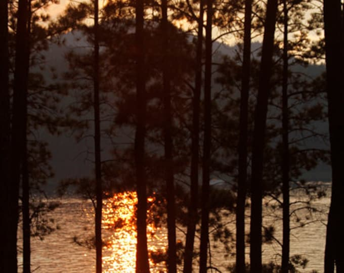 Sunset photography Metal Print Gift for Mom Spring decor Mother's Day Gift Sheridan Lake Sunset Black Hills Summer Decor by Nicole Heitzman