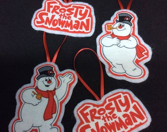 Frosty the Snowman Ornaments-Set of 4