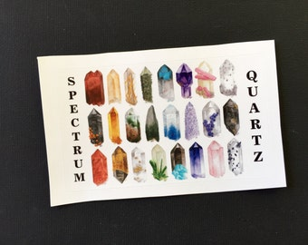 Spectrum Quartz Sticker