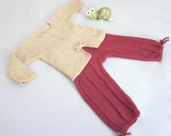 Two Piece Baby Cashmere Set -   Sweater and Pants