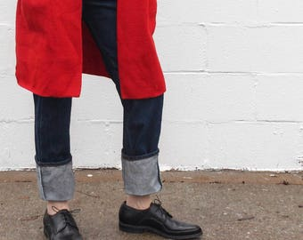 7 D | Ladies 8.5-9 | 1950's 1960's Vintage Men's Black Oxfords Walking Shoes by Freeman