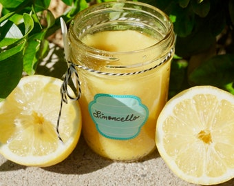 Lemon scrub- Limoncello scent