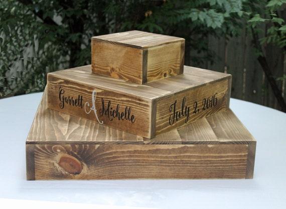 Elegant Holz CUPCAKE Ständer Rustikale Holz Hochzeit Kuchen Stand