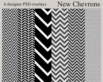 New Chevron overlays digital kit commercial use png, psd, and jpg templates instant download