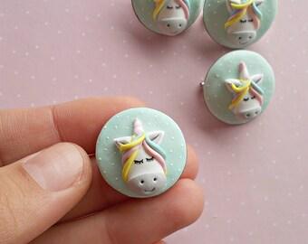 Unicorn Brooch - Unicorn Jewelry - Kids Jewelry - Girls Jewelry - Gifts for kids