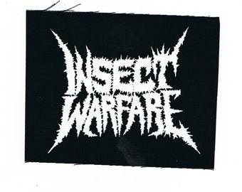 Insect Warfare Grindcore Band Patch