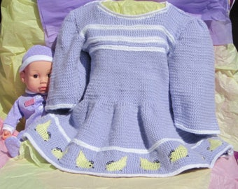 Knit Easter Dress