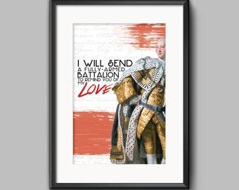 "Hamilton ""You'll Be Back"" Poster - 11x17"