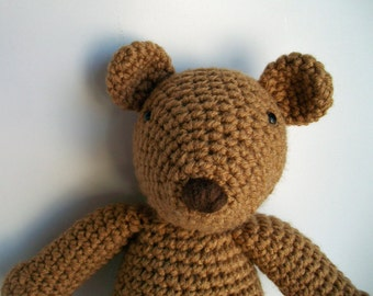 Toasty Teddy Bear Crochet Pattern