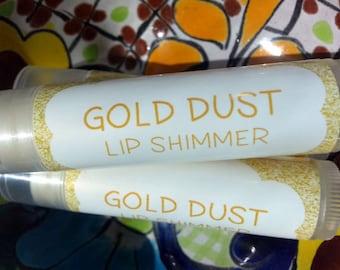 Gold Dust Lip Shimmer ~ Lip Butter ~ Lip Balm ~ Lip Moisturizer ~ Lip Gloss