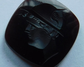 Carnelian Intaglio of Mercury/Hermes