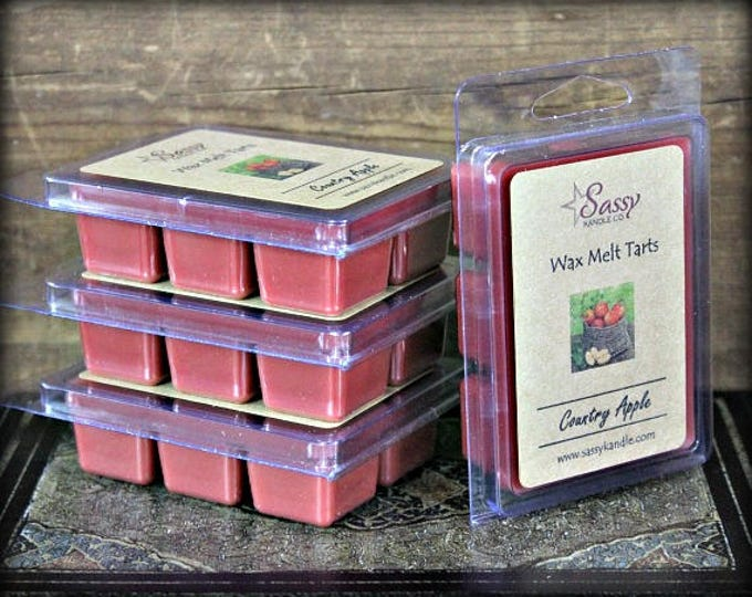 COUNTRY APPLE - Wax Melt Tart - Sassy Kandle Co.