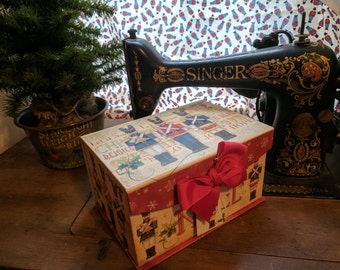 Christmas Soldier Mystery Quilt Box