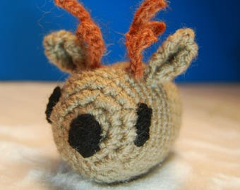 Reindeer - Cute Christmas Crochet Pocket Pet