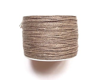Linen cord 100% 1.7 mm / top quality