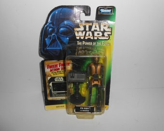 Kenner Star Wars Power of the Force POTF EV-9D9 With Datapad MOC Action Figure