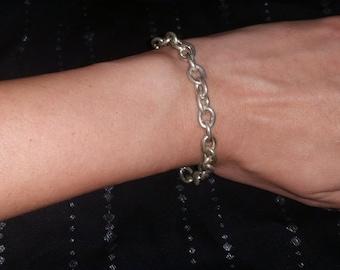 Silver Link Bracelet