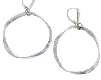 Sterling Silver Friendship Earrings