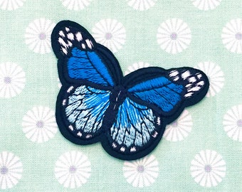 On closer Butterfly blue/turquoise