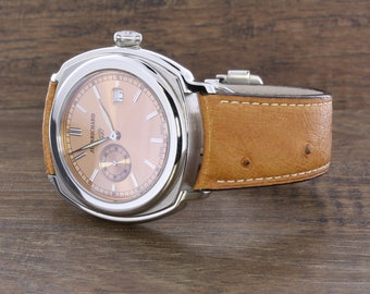 Vintage Stainless Steel Jean Richard Watch
