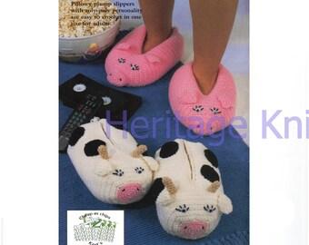 big foot animal slippers crochet pattern 99p