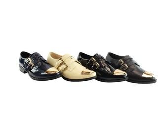 Liyu Women Monk Strap Dress Shoes