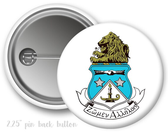 Adpi Alpha Delta Pi Crest Single Or Bulk 225 Pinback