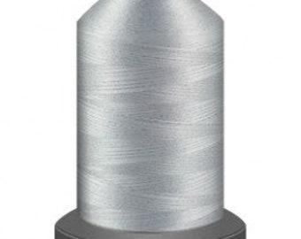 light grey thread, quilting thread, sewing machine thread, glide thread, sewing thread, 1000m cone, Battleship thread, polyester thread