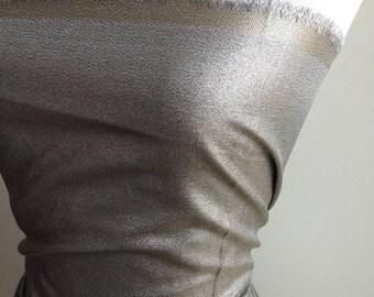 Haute Couture - 110cm x 90cm piece lurex Tweed