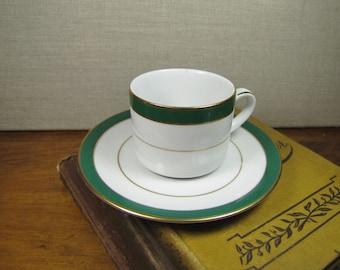 Muirfield Royal Jade Teacup and Saucer Set