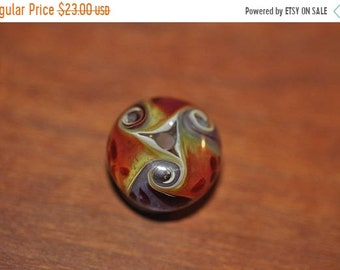 Spring Clear Out Sale Sweet Boro Glass Focal Lampwork Glass Bead