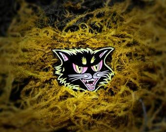 Black Cat - Halloween Soft Enamel Pin