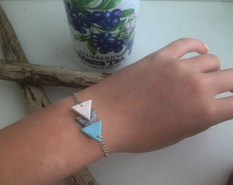 Arrow bracelet blue three colors