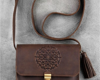 Leather Crossbody bag, Crossbody bags, Leather purse, small crossbody bags, leather purse crossbody, bag and purse,  Leather bag, Women Bag