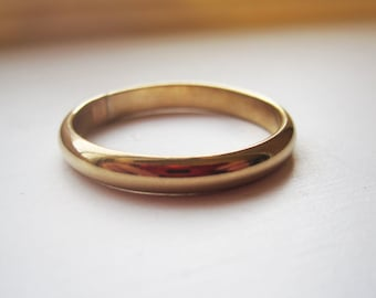 14k Gold Filled 3mm Band Ring