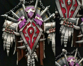 World of Warcraft Horde Wall prop