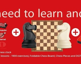 DGT Chess Starter Box Red  SKU: C0605