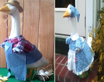 Goose Clothing Set - BillyBob the Farmer and his wife Penny