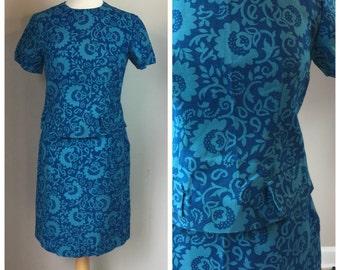 Vintage 60's 2 piece Dress