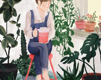 Mindful – A4 fine art print