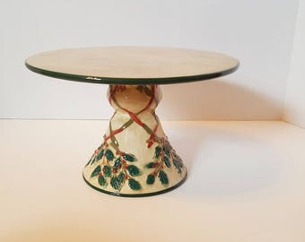 Heartland Style Holiday Cake Stand