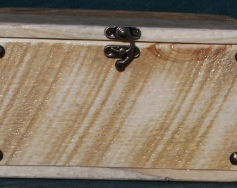 Rustic Wood Box Pet Urn