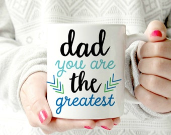 World's best dad mug. Best Dad in the world mug. father's day mug. gift for Father.  Husband Wife Custom 11 oz  Ceramic Dishwasher Safe