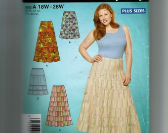 Simplciity Women's Skirt In Two Lengths Pattern 4245