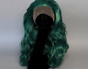 Deep Sea Green - lace front wig