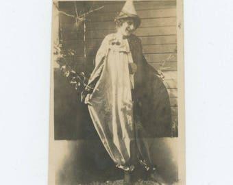 Vintage Snapshot Photo: Clown, c1920s (75574)