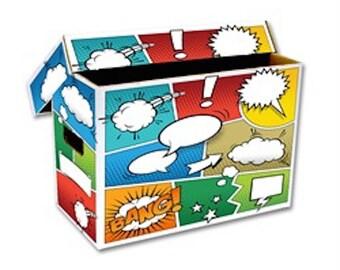 1 Colorized Short Comic Storage Box