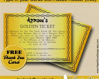 """Golden Ticket 