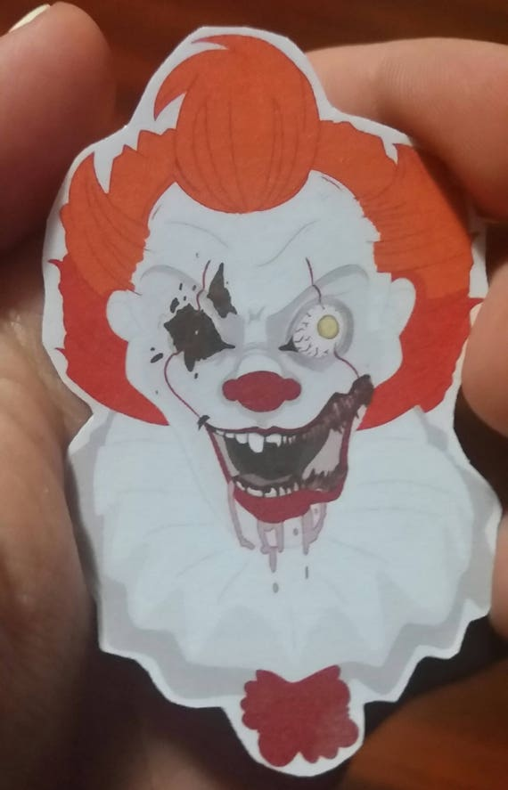 Pennywise it 2017 stickers